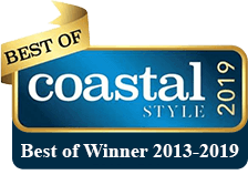 2019 Best of Coastal Style badge