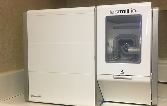 Fastmill.io dental restoration  milling unit