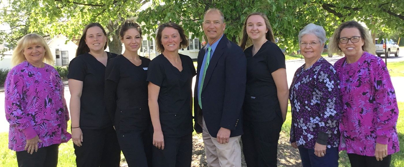 Dr. Kramer and his dental team